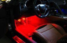 C7 Corvette Stingray/Z06 2014+ LED Strip Lighting - Interior Footwell