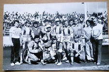 Speedway Org Press Group Photographs~GWARDYISKI KLUB SPORTOWY (apx. 7x4.5 inch)