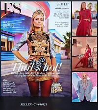 PARIS HILTON PAUL ANDREW CHRISTIAN LOUBOUTIN ES MAGAZINE APRIL 2017