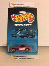 #2  Fiero 2M4 1458 * RED * 1986 Malaysia * Vintage Hot Wheels * E31