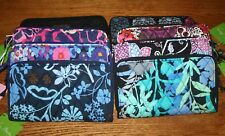 Vera Bradley ACCORDION WALLET  zip around clutch organizer iPhone 7 iPhone 8