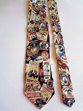 "MUSEUM ARTIFACTS - REPUBLICAN PARTY - SILK NECK TIE - 58"" LONG - 3 7/8"" WIDE"