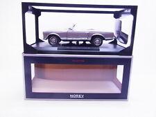68206 Norev 183498 Mercedes Benz 230 SL 1963 anthrazit Modellauto 1:18 NEU OVP