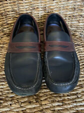 Sperry Top Sider Amaretto Driving Shoes Size 12M.Loafers.Black Burgundy