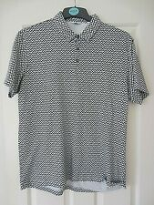 Men's dark blue short sleeved top - size L - Slim fit - NEXT