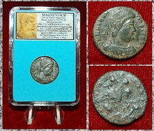 New ListingAncient Roman Empire Coin Of Magnentius Emperor On Horse Spearing Barbarian