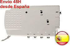 Amplificador TV TDT 4 salidas 30 dB!!! DVB TV 4 output amplifier 30dB!!!