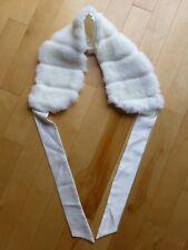 Girls Faux Fur Sleeveless Shrug Scarf Shawl 6 7