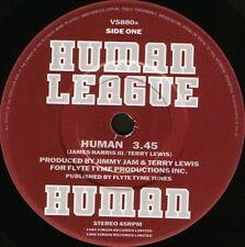 "HUMAN LEAGUE Human 7"" WS EX/- uk virgin VS 880"