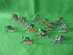 12  COUREURS CYCLISTES DU TOUR DE FRANCE  -  ALUDO /ROGER /COFALU -  A RESTAURER