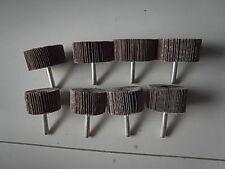 Schleifstifte Fächerschleifer 6 mm Schaft 8 Stück gemischtes Korn ETFS-SETMIX1