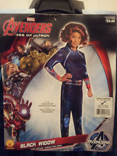 Marvel-Avengers-Girls-L-12-14-Black-Widow-Jumpsuit-Boot-Covers-Rubie's-610443