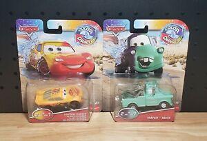 Disney Pixar Cars Color Changers Lightning McQueen & Mater Ships Fast 🚚💨