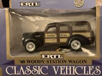 ERTL 1/43 VINTAGE VEHICLES 1940 FORD WOODY WAGON Moser Office School Supplies