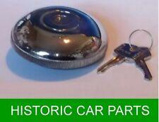 "3 1/4"" Dia Locking Petrol Cap & Keys for Austin Healey Sprite Mk1 Frog Eye 58-61"