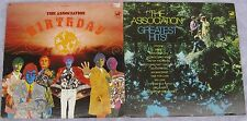 The Association(Lot of 2 LPs): Birthday / Greatest Hits