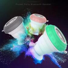 ROCKSPACE Pocket Party Bluetooth Hands-free Speaker Waterproof Green