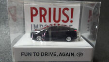 TOYOTA PRIUS Light Keychain Black Pull Back Mini Car JAPAN Not Sold in stores