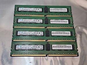 Samsung 32GB 4x8GB 1Rx4 PC4-2133P-RC0-10 DDR4 ECC Registered Server Memory