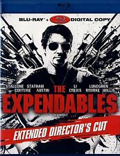 NEW  BLU-RAY // THE EXPENDABLES // Sylvester Stallone, Jason Statham, Mickey Rou