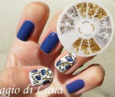 360 Stk Strassstein Nagel Glitter Sticker Rad Straßsteine UV Gel Nail Art Stud