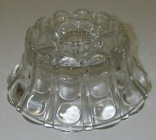 Anchor Hocking Glass Hurricane Lamp Base Clear Candle Holder Candlestick