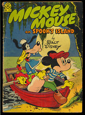 Four Color #170 (Mickey Mouse) Walt Disney Golden Age Dell Comic 1947 GD+