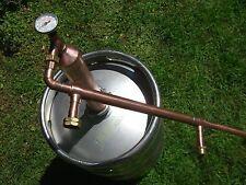 """2""""Column Ethanol Moonshine Whiskey,Copper Still Olympic Beater! Moonshine"""