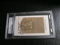 Early Wynn Autographed HOF Cut PSA Certified Encapsulated 2