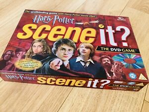 Harry Potter Scene it? The DVD Board Game 2005 - 100% Complete - ex. Condition