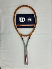 New listing Wilson Blade 98 16x19 Roland Garros (4 1/2) Tennis Racquet