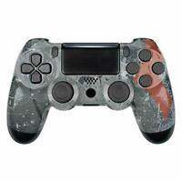 Spartan Warrior Faceplate Upper Housing Shell Cover for PS4 Slim Pro Controller