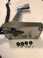 Turner microphone FEET, all Turner+3/SSK desk mics, four (4) feet, screws & nuts
