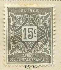 FRENCH COLONIES :;  GUINEE 1914 Postage Due issue Mint hinged 15c. value