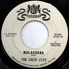 THE CREW CUTS 45 Malaguena / Why Not PROMO Doo Wop WARWICK 1960 e2986