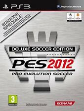 PES 2012 DELUXE SOCCER EDITION PS3 SONY PLAYSTATION 3 NUOVO ITALIANO