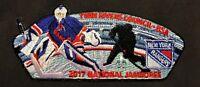 TWIN RIVERS COUNCIL KITTAN OA 364 2017 JAMBOREE NHL HOCKEY NEW YORK RANGERS JSP