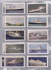 Post - 2nd World War Ships/Boats Collectable Cigarette Cards