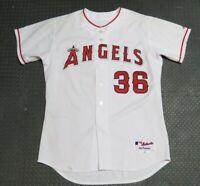 2004 Ramon Ortiz Los Angeles Angels Game Used Worn MLB Baseball Jersey! Anaheim