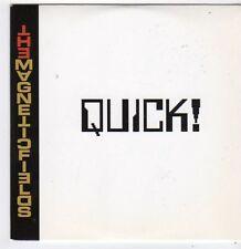 (FJ383) The Magnetic Fields, Quick! - 2012 DJ CD