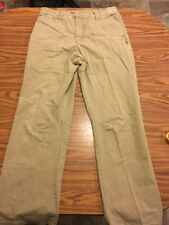 Mens Burton Cotton Khaki Pants Size Large. 33 X 32. Hiking Hunting