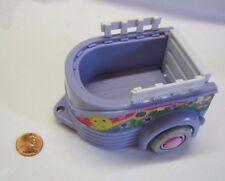 FISHER PRICE Sweet Streets Dollhouse HORSE PONY TRAILER for PICK-UP TRUCK Rare