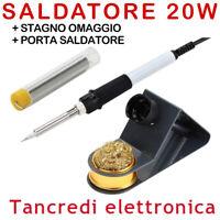 ZD-23 SALDATORE A STAGNO 20W STILO SALDARE PORTASALDATORE STAGNO RIPARAZIONI PCB