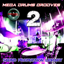 MEGA DRUMS GROOVES 2 - PRODUCTION LIBRARY - Kits/Loops/Performances 8GB