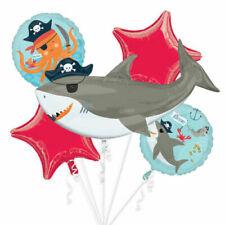 "Anagram 41"" Jumbo Pirate Shark Foil Bouquet Balloon Party Supplies"