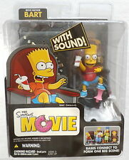 NEW Movie Mayhem Bart The Simpsons Movie W/ Sound Action Figure McFarlane Toys
