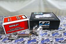 Manley Rods & CP Pistons 81.5mm Bore 9.0:1 CR For Honda Civic Si B16 B16A B16A2