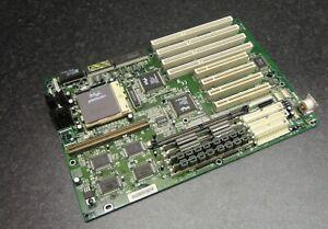 ECS P5VX-B Socket 7 AT Motherboard Rev 1.2 with 32MB RAM and Intel Pentium CPU
