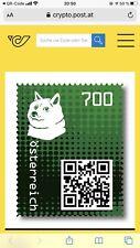 Crypto Stamp 2.0 Doge Green Bereits Ausverkauft Perfekt Für Sammler