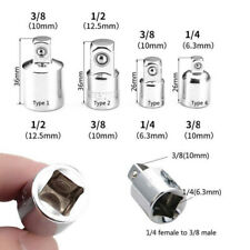 """3/8"""" to 1/4"""" 1/2 inch Drive Ratchet Converter Socket Adapter Reducer Air Im_P2a"""